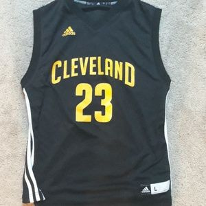 Lebron Jane's Cleveland Cavaliers jersey